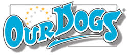 Our Dogs 	             Logo